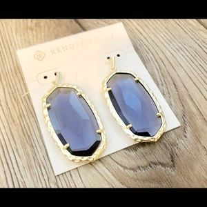 NWT Kendra Scott Iolite Ella Earrings